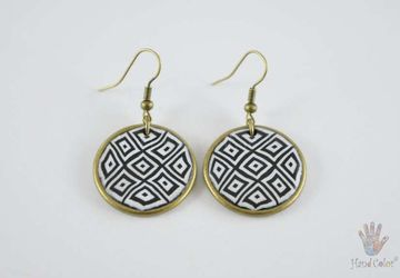 Portuguese Montanhac Round Earrings - BCDM-0-13