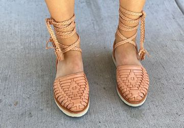 Women's Playa Huaraches Gladiator Edition | Mexican Leather Huaraches