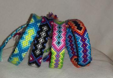 Friendship bracelet,Braided tribal bracelet, Aztec knitted bracelet, Wrist band, Bohemian style, Bracelet bresilien