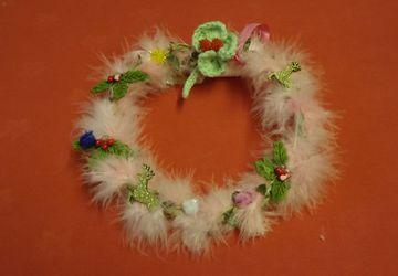 Beautiful Christmas wreath