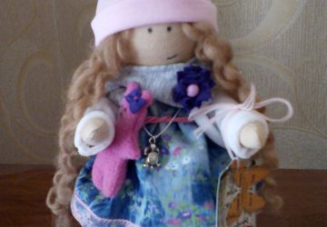 Eve the textile doll