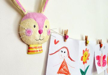 Bunnies Art Display