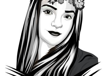 Custom Black And White Portrait