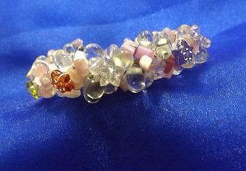 Glass beaded bangle