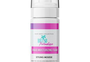 Try This Braid Mousse From Hair Meds | Tames Frizz | No Flaking Or Residue