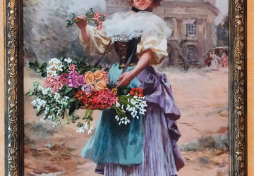 "A picture ""A flower lady"""