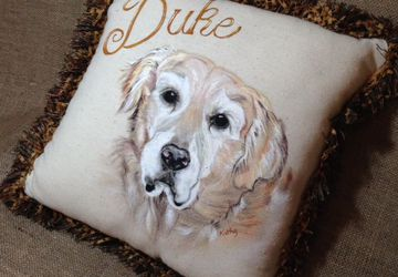 Custom Fur Baby Pillows