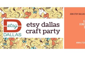 Etsy Dallas Craft Party