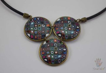 Gustav Klimt Indigo Necklace - CIDK-0-44