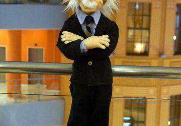 """Designer's puppet """"Einstein"""""""