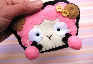 Felt Card Case - Remmy the Ram