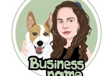 Custom Cartoon Logo Avatar, Business Logo