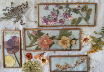 Flower Pressing Workshop
