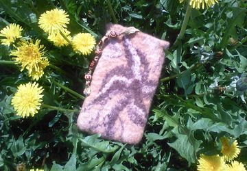 Woolen cellphone case