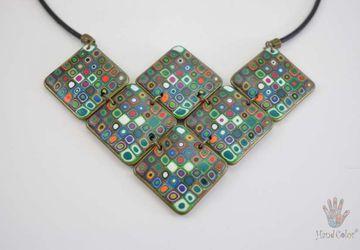 Gustav Klimt Necklace - CSDK-0-43