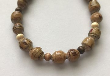 Natural colored bracelet