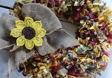 Custom Fabric Wreaths