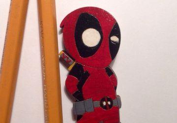"""""""Deadpool"""" brooch"""