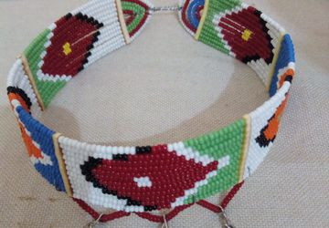 Masaai/masai beaded ceremonial wedding choker