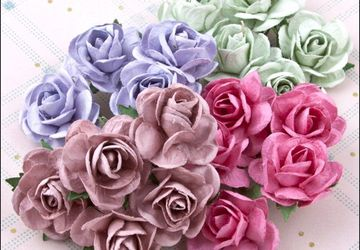 How to make rose with paper - step by step guide