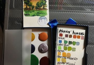 Aquanut Aquadot Handcrafted Artisial Watercolor Subscription Box