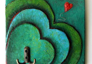 Hearts Key Rack