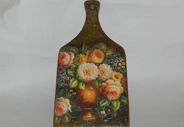 """Cutting board """"Flowers"""""""