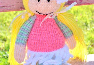 Goldilocks doll in gentle colours