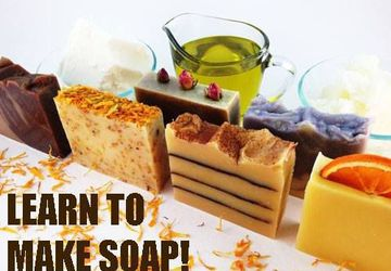 Libations and Soap Making Class