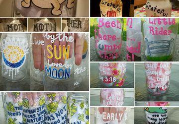 Custom Mason Jar Candle Holders! (Free Shipping!)
