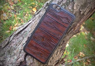 Exclusive iPhone 6+ leather case
