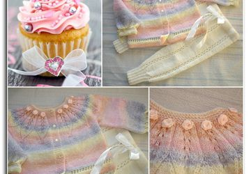 Baby's set in pastel shades