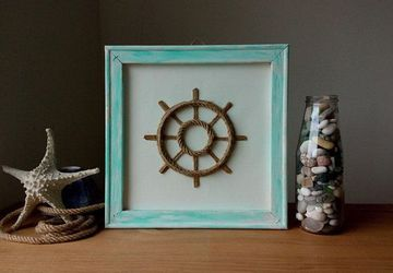 Nautical Home Decor, Turquoise Wall Decor