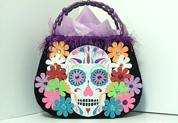 Day of the Dead/Sugar Skull Tote bag