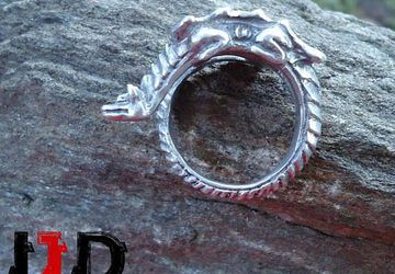 Dragon Ring - Dragon Jewelry - Dragon Accesoaries - Targaryen Ring - Game of Thrones - Daenerys Targaryen Ring - Gothic Ring