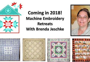 Machine Embroidery with Brenda Jeschke