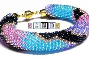 """""""Violet snake"""" bracelet"""