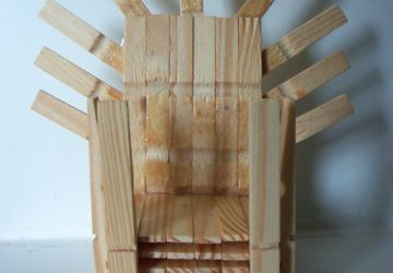 Game Of Thrones Iron Throne Miniature Wooden Peg Chair