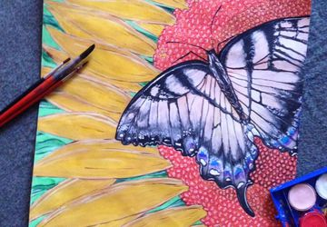 """A painting """"Butterfly"""""""