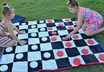 Checkers Board Set - Outdoor Giant Yard Games