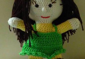 Handmade Crocheted doll