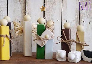 Handmade Primitive Nativity Workshop