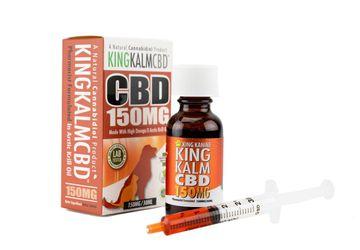 CBD for Dogs | 150 mg CBD with Krill Oil | Free King Komb Mini