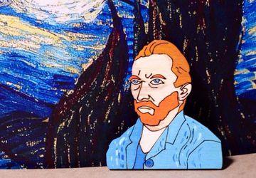 """Van Gogh"" brooch"