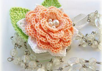 """A pin """"Spring rose"""""""