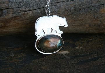 The Mini Bear pendant