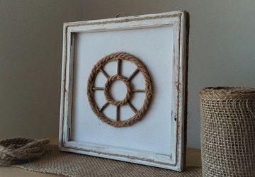 Spinning Wheel Decor, Rustic Wheel Decor,