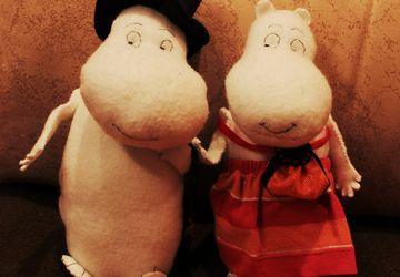 Moomin-dad and Moomin-mom