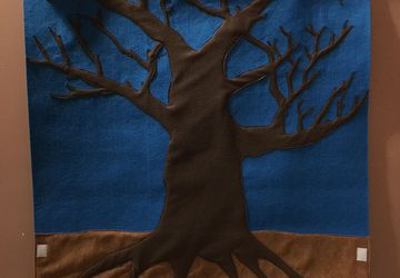 Felt Seasonal Tree Decorating Activity