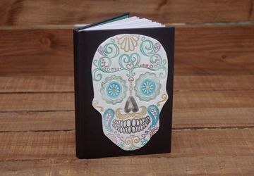 Pastel Sugar Skull Notebook